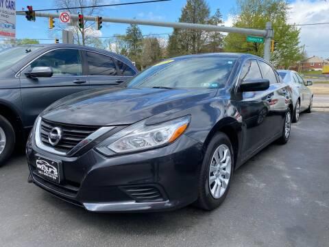 2017 Nissan Altima for sale at WOLF'S ELITE AUTOS in Wilmington DE