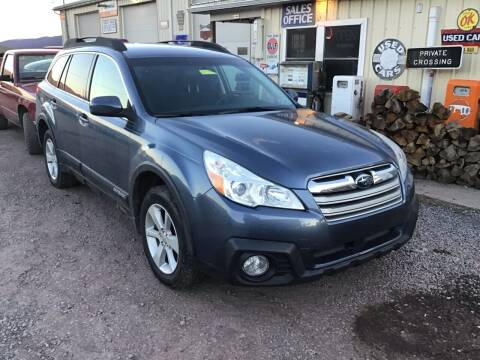 2013 Subaru Outback for sale at Troys Auto Sales in Dornsife PA