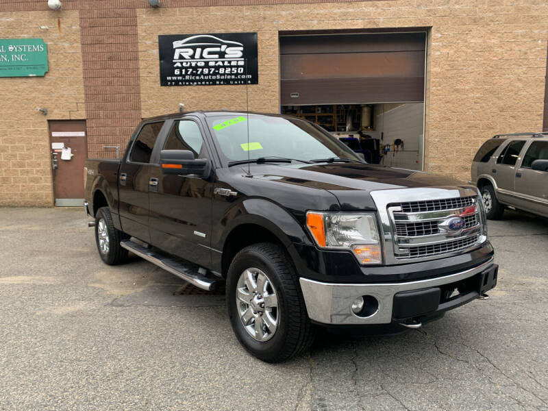 2013 Ford F-150 for sale at Ric's Auto Sales in Billerica MA