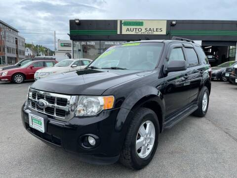 2010 Ford Escape for sale at Wakefield Auto Sales of Main Street Inc. in Wakefield MA