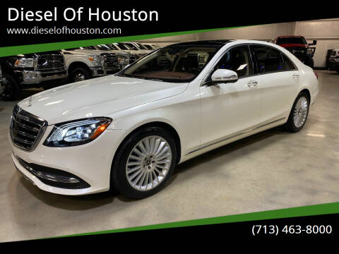 2018 Mercedes-Benz S-Class for sale at Diesel Of Houston in Houston TX
