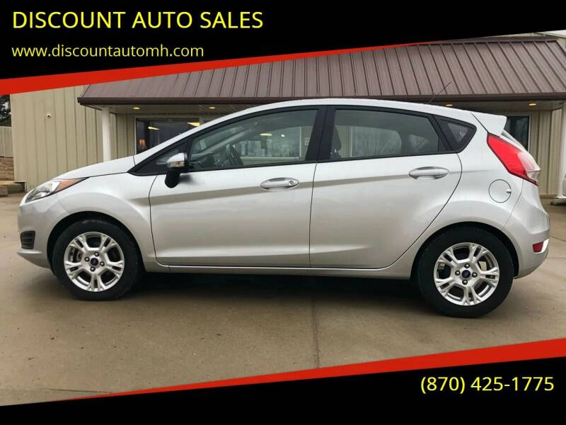 2016 Ford Fiesta for sale at DISCOUNT AUTO SALES in Mountain Home AR