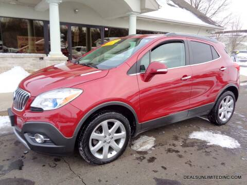 2015 Buick Encore for sale at DEALS UNLIMITED INC in Portage MI