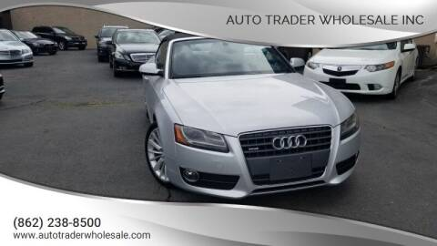 2011 Audi A5 for sale at Auto Trader Wholesale Inc in Saddle Brook NJ