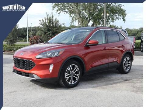 2020 Ford Escape for sale at BARTOW FORD CO. in Bartow FL