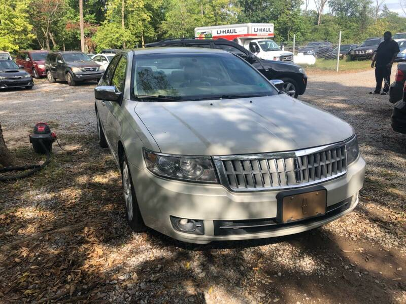 2008 Lincoln MKZ for sale at Noble PreOwned Auto Sales in Martinsburg WV