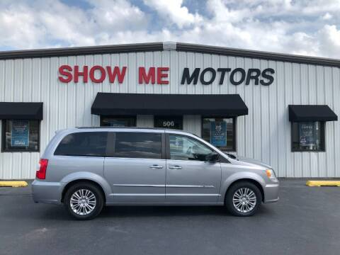 2015 Chrysler Town and Country for sale at SHOW ME MOTORS in Cape Girardeau MO