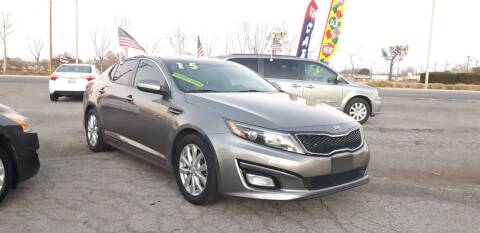 2015 Kia Optima for sale at Autosales Kingdom in Lancaster CA
