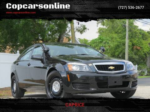 2014 Chevrolet Caprice for sale at Copcarsonline in Largo FL