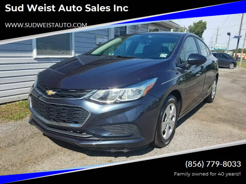 2016 Chevrolet Cruze for sale at Sud Weist Auto Sales Inc in Maple Shade NJ