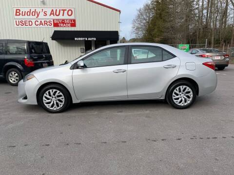 2018 Toyota Corolla for sale at Buddy's Auto Inc in Pendleton SC