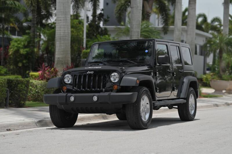 2013 Jeep Wrangler Unlimited for sale at EURO STABLE in Miami FL