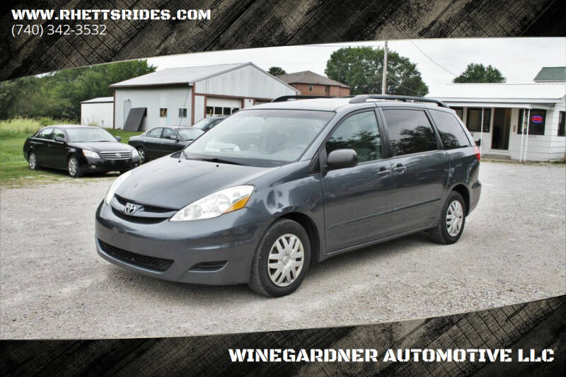2008 Toyota Sienna for sale at WINEGARDNER AUTOMOTIVE LLC in New Lexington OH