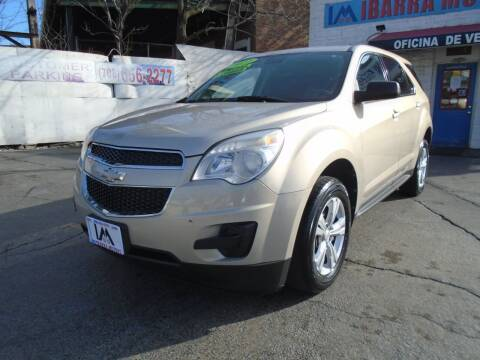 2012 Chevrolet Equinox for sale at IBARRA MOTORS INC in Cicero IL