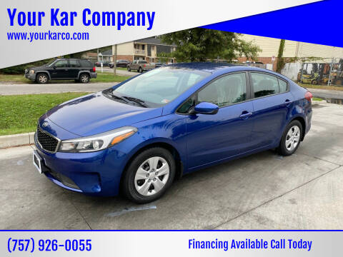 2018 Kia Forte for sale at Your Kar Company in Norfolk VA