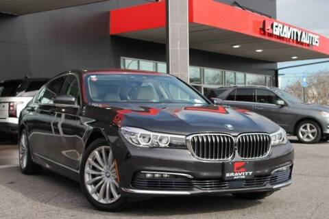 2017 BMW 7 Series for sale at Gravity Autos Roswell in Roswell GA