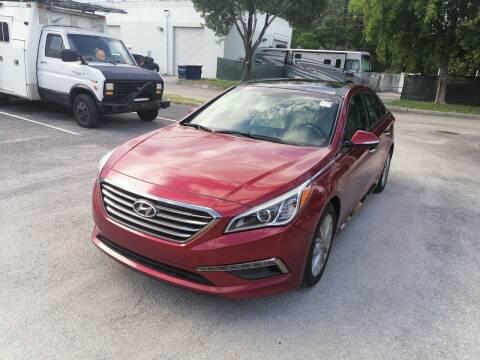2015 Hyundai Sonata for sale at Best Price Car Dealer in Hallandale Beach FL