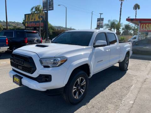 2018 Toyota Tacoma for sale at Mac Auto Inc in La Habra CA
