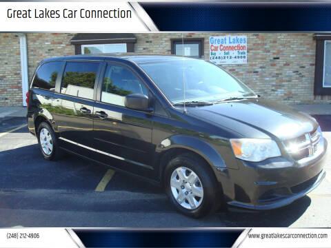 2011 Dodge Grand Caravan for sale at Great Lakes Car Connection in Metamora MI