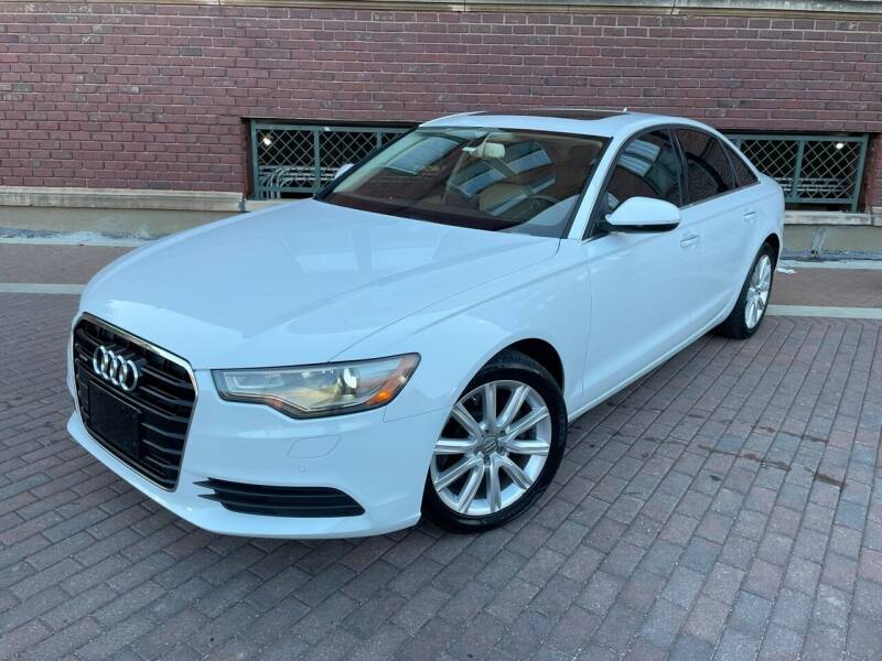 2014 Audi A6 for sale at Euroasian Auto Inc in Wichita KS