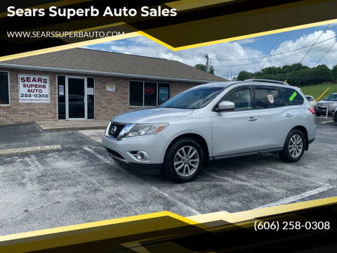 2015 Nissan Pathfinder for sale at Sears Superb Auto Sales in Corbin KY