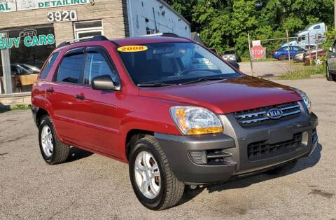 2008 Kia Sportage for sale at Nile Auto in Columbus OH