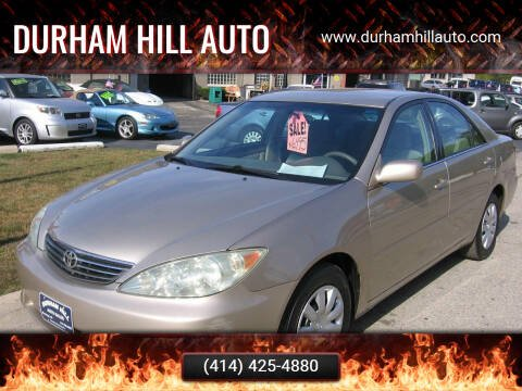 2006 Toyota Camry for sale at Durham Hill Auto in Muskego WI