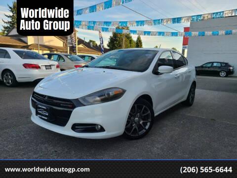 2013 Dodge Dart for sale at Worldwide Auto Group in Auburn WA