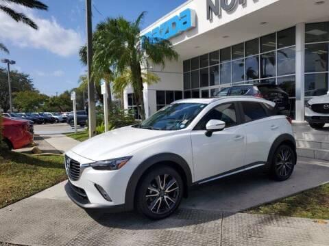 2018 Mazda CX-3 for sale at Mazda of North Miami in Miami FL