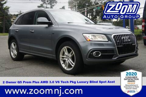 2015 Audi Q5 for sale at Zoom Auto Group in Parsippany NJ