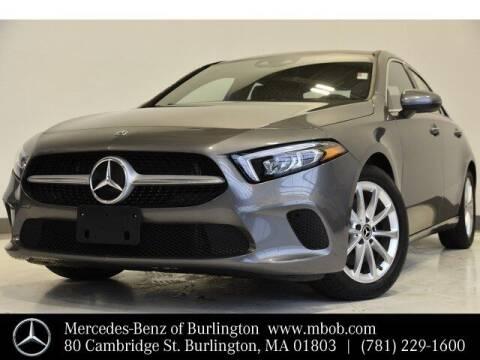 2020 Mercedes-Benz A-Class for sale at Mercedes Benz of Burlington in Burlington MA