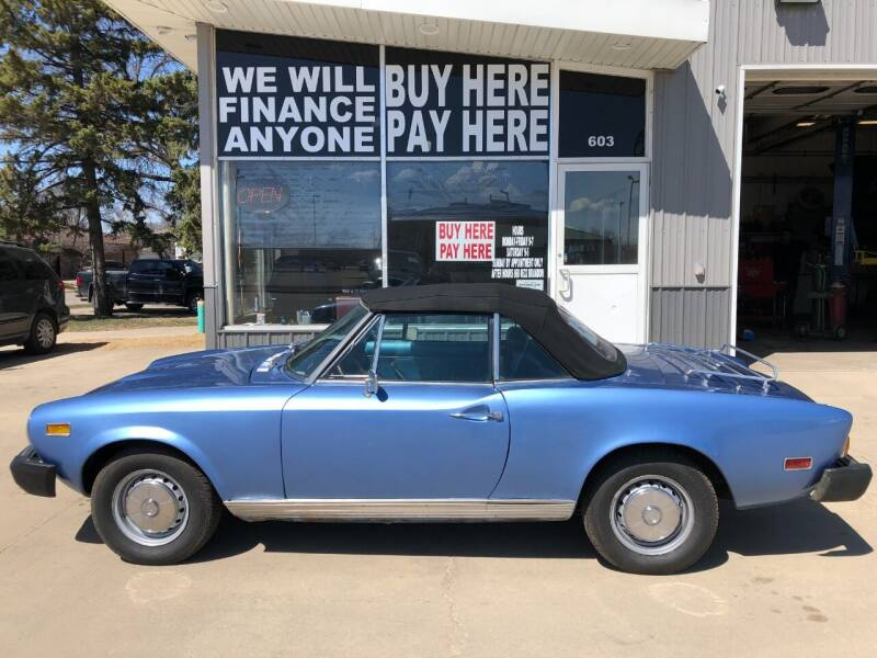 1977 FIAT 124 Spider for sale at STERLING MOTORS in Watertown SD
