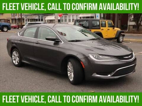 2015 Chrysler 200 for sale at Bob Weaver Auto in Pottsville PA