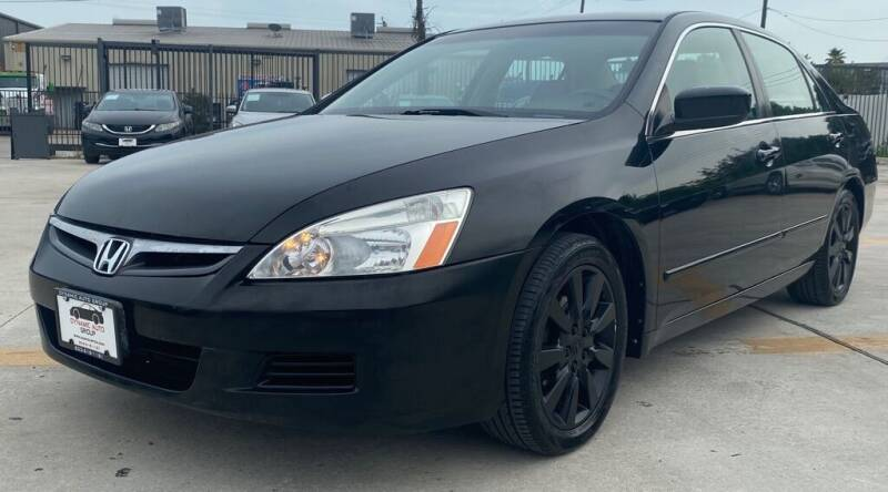 2006 Honda Accord for sale at DYNAMIC AUTO GROUP in Houston TX