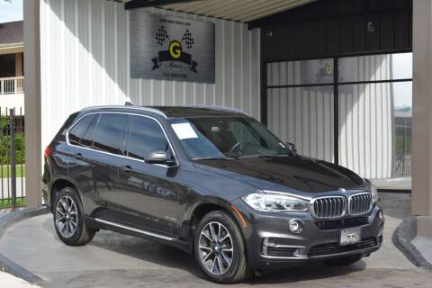 2017 BMW X5 for sale at G MOTORS in Houston TX