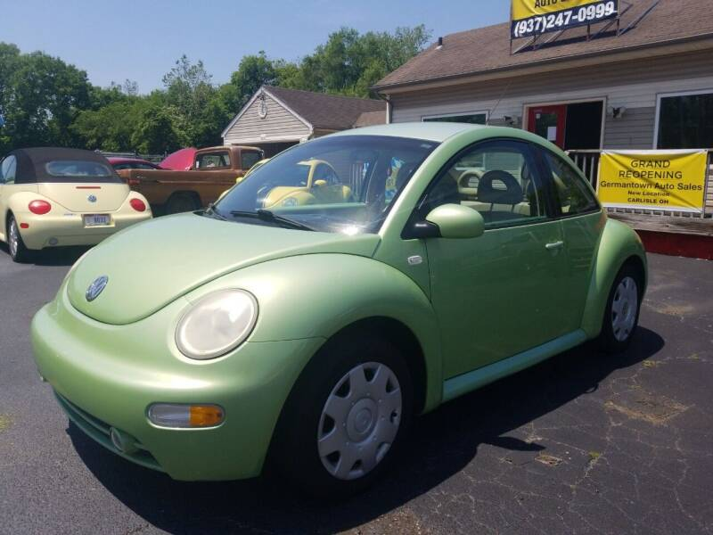 2001 Volkswagen New Beetle for sale at Germantown Auto Sales in Carlisle OH