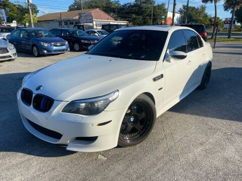 2008 BMW M5 for sale at CHECK AUTO, INC. in Tampa FL