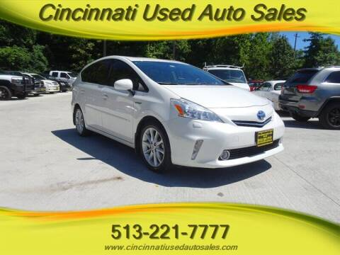2012 Toyota Prius v for sale at Cincinnati Used Auto Sales in Cincinnati OH