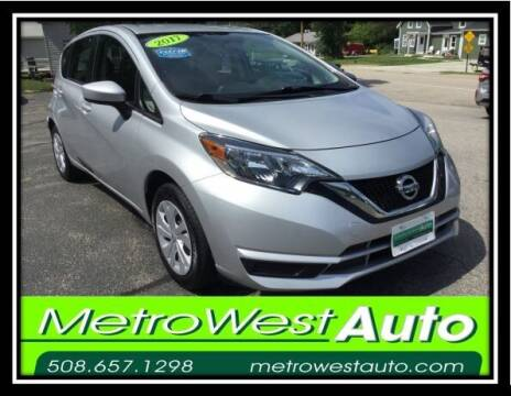 2017 Nissan Versa Note for sale at Metro West Auto in Bellingham MA