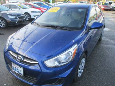 2016 Hyundai Accent for sale at GMA Of Everett in Everett WA