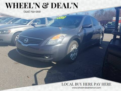 2009 Nissan Altima for sale at Wheel'n & Deal'n in Lenoir NC