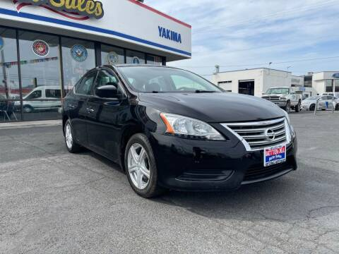 2015 Nissan Sentra for sale at Better All Auto Sales in Yakima WA