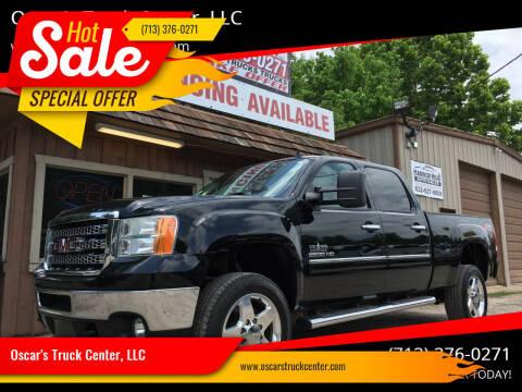 2014 GMC Sierra 2500HD for sale at Oscar's Truck Center, LLC in Houston TX