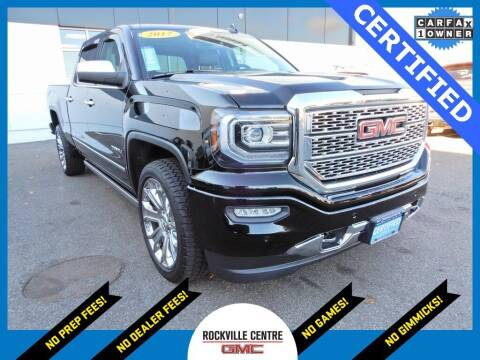 2017 GMC Sierra 1500 for sale at Rockville Centre GMC in Rockville Centre NY
