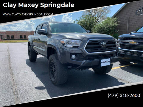 2019 Toyota Tacoma for sale at Clay Maxey Springdale in Springdale AR