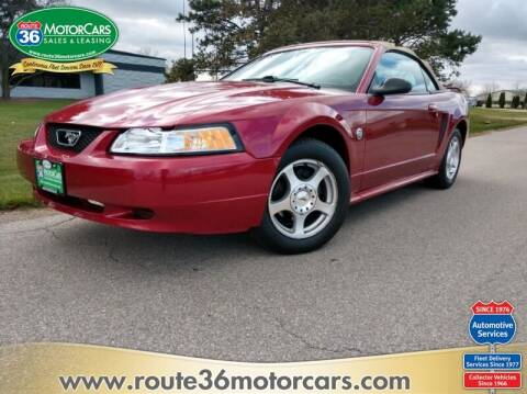 2004 Ford Mustang for sale at ROUTE 36 MOTORCARS in Dublin OH