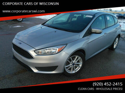 2017 Ford Focus for sale at CORPORATE CARS OF WISCONSIN in Sheboygan WI