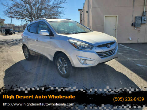 2014 Hyundai Tucson for sale at High Desert Auto Wholesale in Albuquerque NM