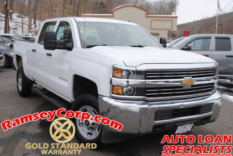 2017 Chevrolet Silverado 2500HD for sale at Ramsey Corp. in West Milford NJ