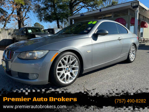 2008 BMW 3 Series for sale at Premier Auto Brokers in Virginia Beach VA